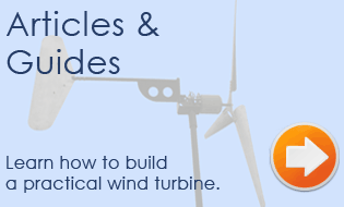 Learn how to build a DIY wind turbine!