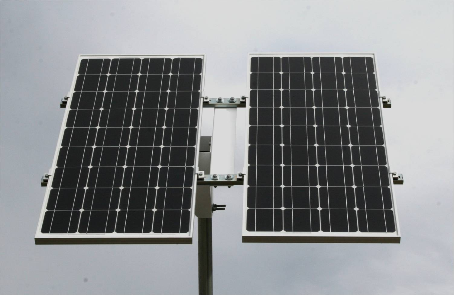 Top Of Pole Solar Panel Mount